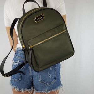 Kate spade Wilson Bradley road backpack evergreen